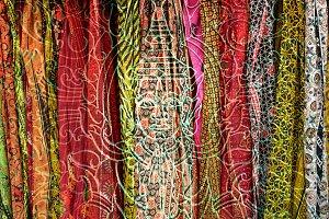 Colorful Praying Buddha