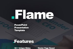 Flame Presentation Template