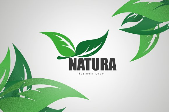 Natura Business Logo in Graphics