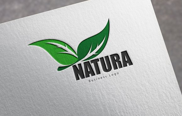 Natura Business Logo in Graphics - product preview 2