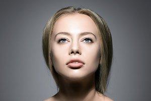 Beauty Woman Face.