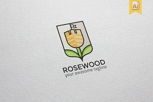Rosewood Logo Template