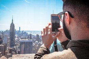 Man make photo Empire State Building