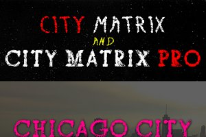 City Matrix with Pro Version