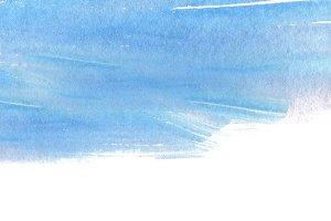 watercolor brush stroke paint