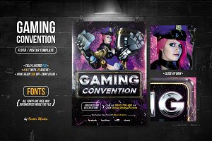 Gaming - Flyer