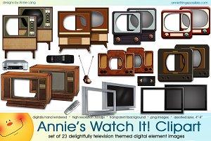 Annie's Watch It Clipart