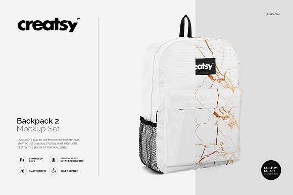 Download Backpack 2 Mockup Set