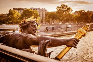 Pont Alexandre III, Paris