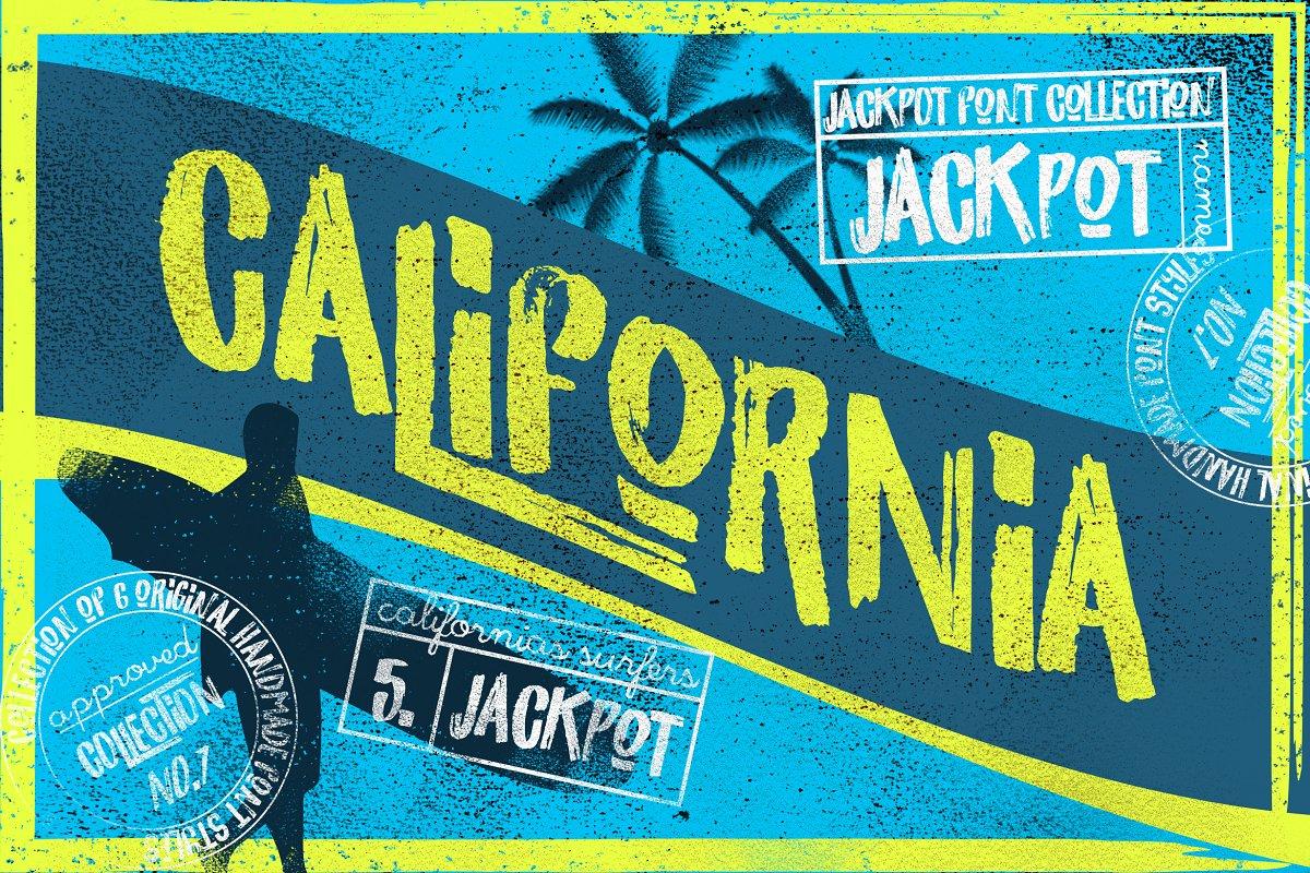 California Jackpot Font ~ Display Fonts ~ Creative Market