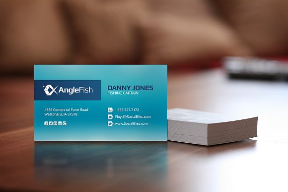 Fishing charter business cards business card templates creative fishing charter business cards business card templates creative market colourmoves