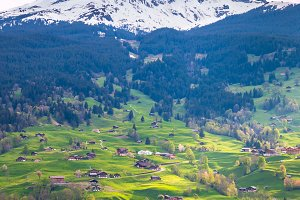 Grindelwald valley, Switzerland