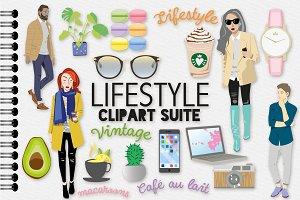Lifestyle / Fashion Illustration Set