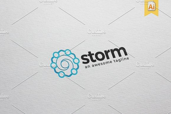 Storm Logo Template