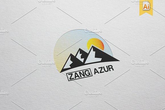 Zang Azur Logo Template