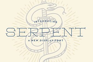 Serpent Typeface