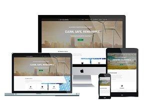AT Solaren Onepage - Energy Joomla