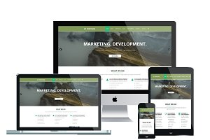 AT PORTGEN Onepage - Business Joomla