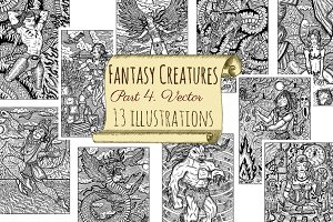 Fantasy Creatures Collection 4