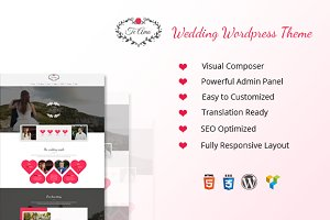 TeAmo - Wedding WordPress Theme
