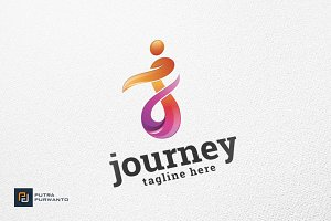 Journey / Letter J - Logo Template