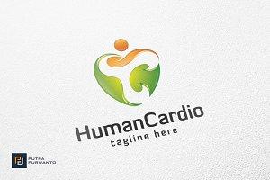 Human Cardio / Heart - Logo Template