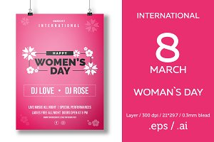 Womans Day Poster