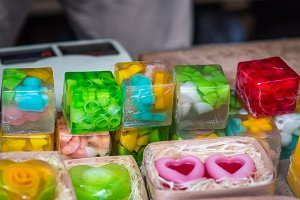 SOAP handmade square shape