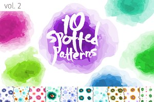 10 Blotted Patterns. Vol. 2