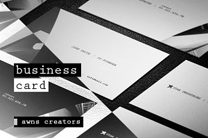 Clean & Creative Business Card