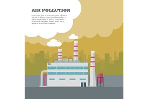 Air Pollution Concept