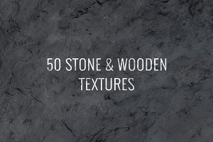 50 Stone & Wooden Textures