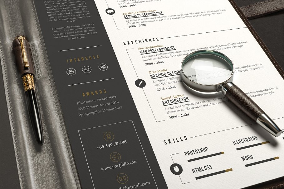 Pro Resume ~ Resume Templates ~ Creative Market
