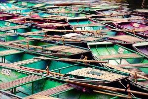 Traditional Boats of Mekong