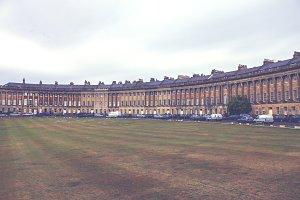 Royal Crescent in Bath, England