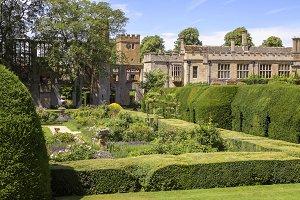 Gorgeous medieval gardens