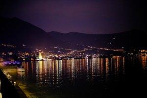 Lake Iseo by night