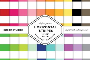 Horizontal Stripes Backgrounds