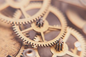 Mechanical watches background