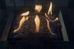 Carbon metal stove