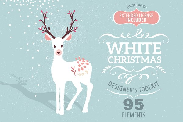 White Christmas designer toolkit