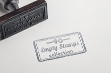 90 Handmade Empty Stamps