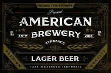 American Brewery Clean & Rough
