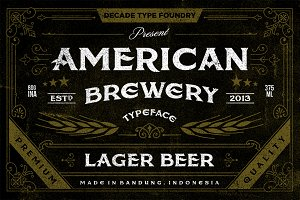 American Brewery Clean & Rough