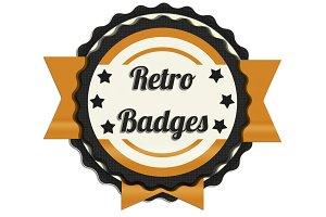 High Quality Retro Badges