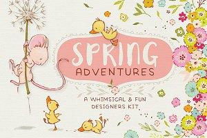 Spring Adventures Designers Kit