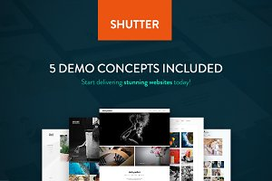 Shutter - Photography WP Theme