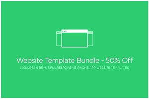Website Template Bundle - 50% Off