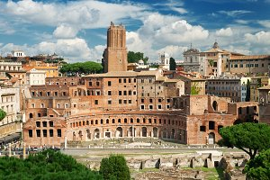 The forum of Trajan