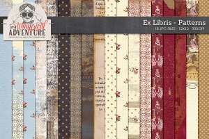 Ex Libris Patterned Papers